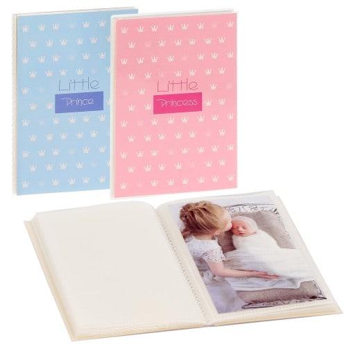 GOLDBUCH - Mini album pochettes sans mémo LITTLE - 32 pages blanches - 32 photos - Couverture Coloris aléatoire 12x16cm - à l'unité