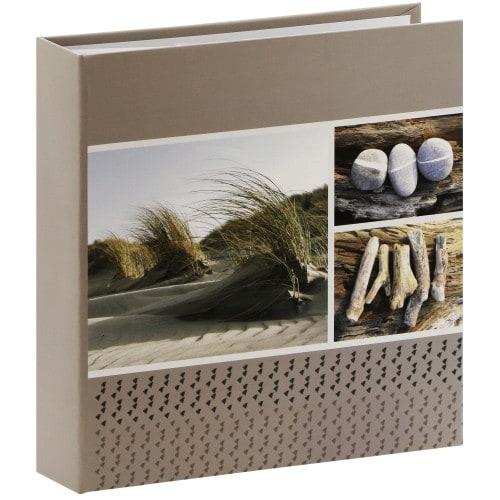 PANODIA - Album photo pochettes avec mémo EVASION - 100 pages blanches - 200 photos