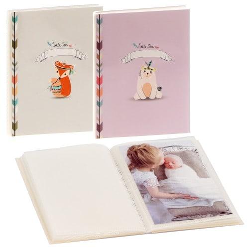 PANODIA - Mini album pochettes sans mémo TINOU - 24 pages blanches - 24 photos -  Couverture Coloris aléatoire 13,2x16,2cm - à l'unité