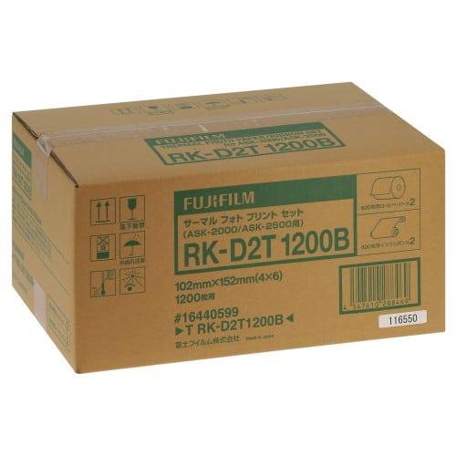 Consommable thermique FUJI pour ASK-2000/2500 10x15cm - 2 x 600 tirages (RK-D2F1200)