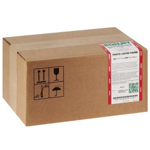 Papier jet d'encre BONJET BONJET GRAPHIC papier RC perlé 250g - A4 - 500 feuilles