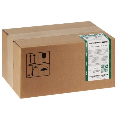 Papier jet d'encre BONJET BONJET GRAPHIC papier RC brillant 250g - A4 - 500 feuilles