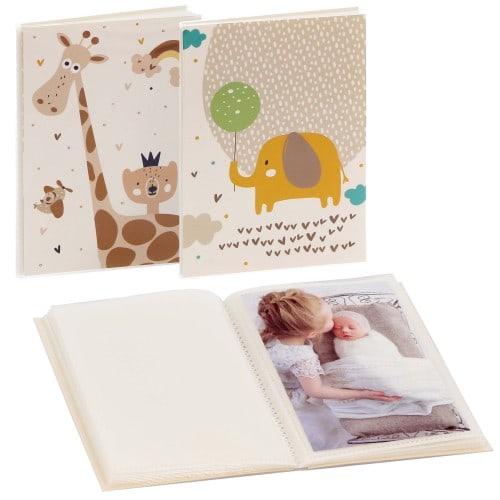 GOLDBUCH - Mini album pochettes sans mémo LITTLE DREAM - 32 pages blanches - 32 photos - Couverture Motif aléatoire 12x16cm - à l'unité