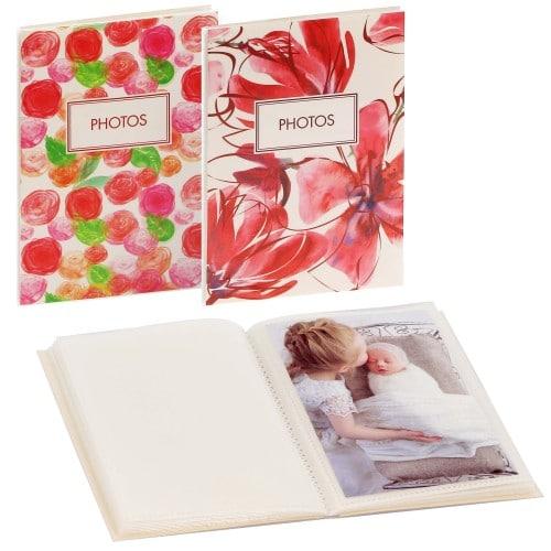 GOLDBUCH - Mini album pochettes sans mémo SUMMER VIBES - 32 pages blanches - 32 photos - Couverture Coloris aléatoire 12x16cm - à l'unité