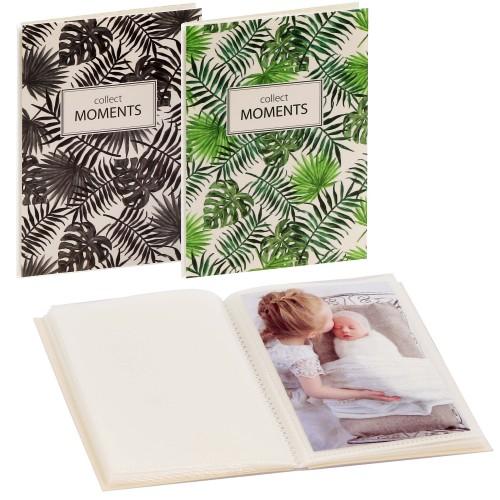 GOLDBUCH - Mini album pochettes sans mémo TROPICANA - 32 pages blanches - 32 photos - Couverture Coloris aléatoire 12x16cm - à l'unité