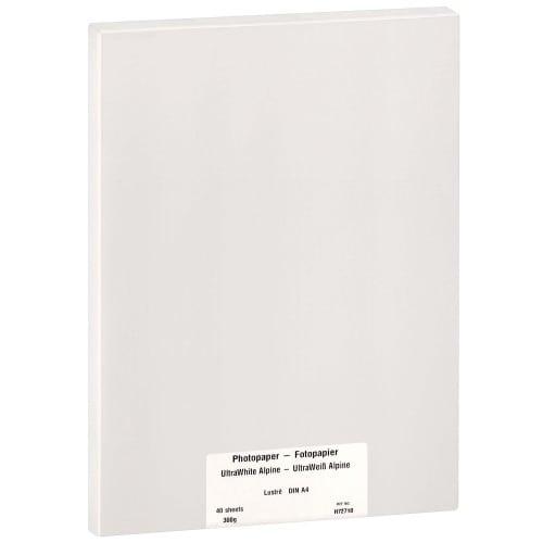 Papier jet d'encre MB TECH MB TECH Pro Photo et Fine Art lustré 300g - A4 - 40 feuilles