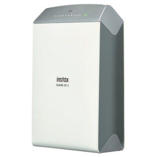 Imprimante photo instantanée FUJI Instax Share SP2 Silver - pour Smartphones - Tirages 6,2x4,6cm  101,6x42x122,5mm - 253g (livré