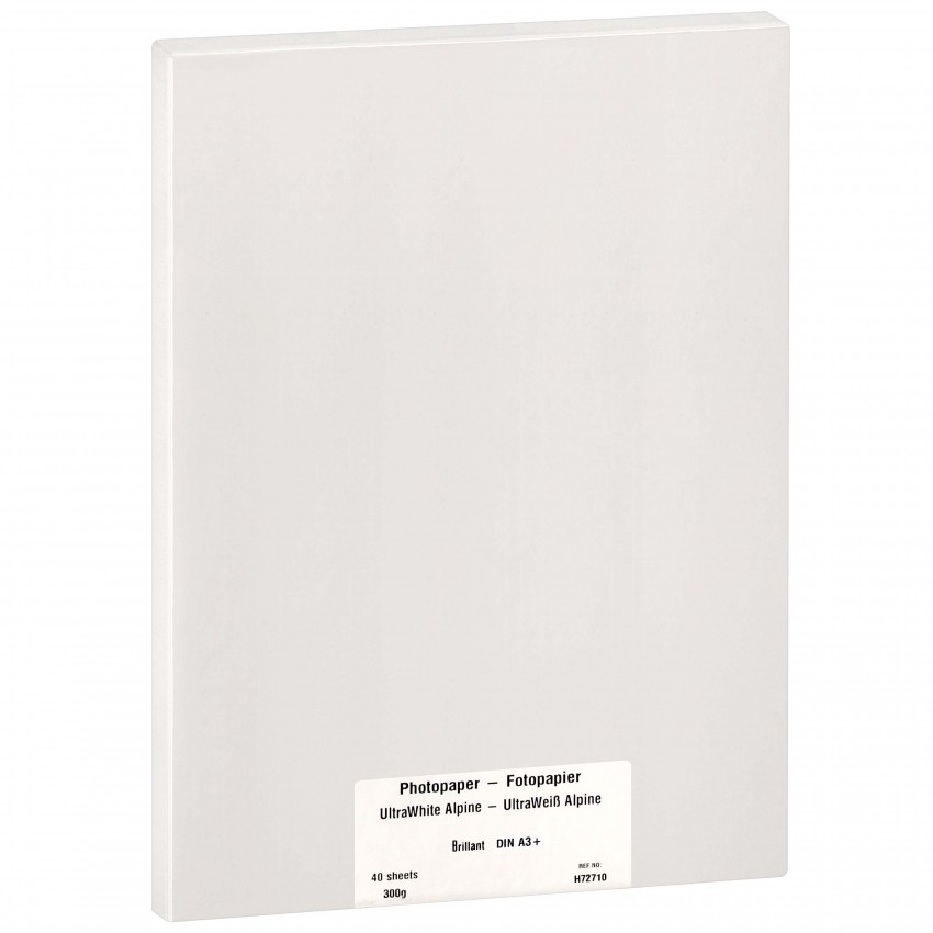 Papier jet d'encre MB TECH MB TECH Pro Photo et Fine Art brillant 300g - A3+ - 40 feuilles