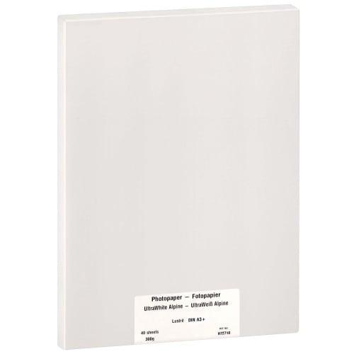 Papier jet d'encre MB TECH MB TECH Pro Photo et Fine Art lustré 300g - A3+ - 40 feuilles