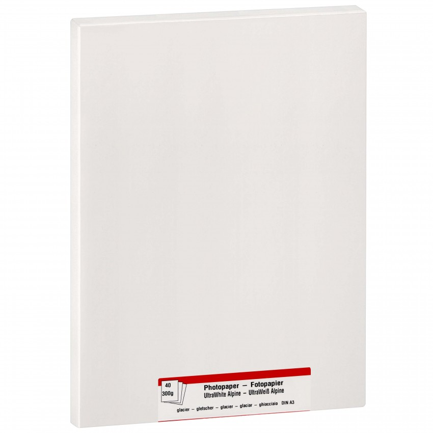 Papier jet d'encre MB TECH MB TECH Pro Photo et Fine Art lustré 300g - A3 - 40 feuilles