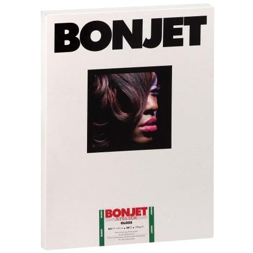 Papier jet d'encre BONJET BONJET ATELIER papier RC brillant 300g - A3 - 30 feuilles