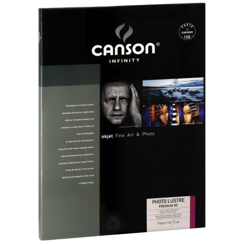 Papier jet d'encre CANSON CANSON Infinity Photolustré Premium RC extra blanc 310g - A2 - 25 feuilles