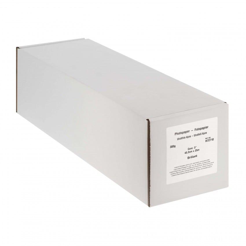 """Papier jet d'encre MB TECH Pro Photo et Fine Art brillant 300g - 17"""" (43,2cm) - 25m"""
