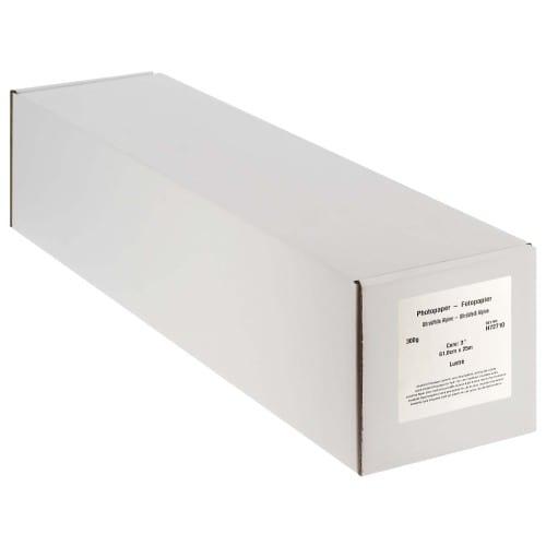 """Papier jet d'encre MB TECH Pro Photo et Fine Art lustré 300g - 24"""" (61cm) - 25m"""