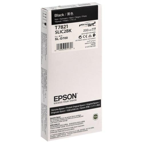 Cartouche d'encre EPSON C13T782100 - Noir - Pour D700/D7