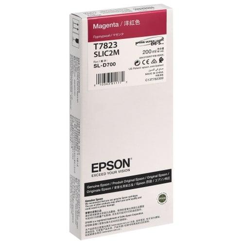 Cartouche d'encre EPSON C13T782300 - Magenta - Pour D700/D7