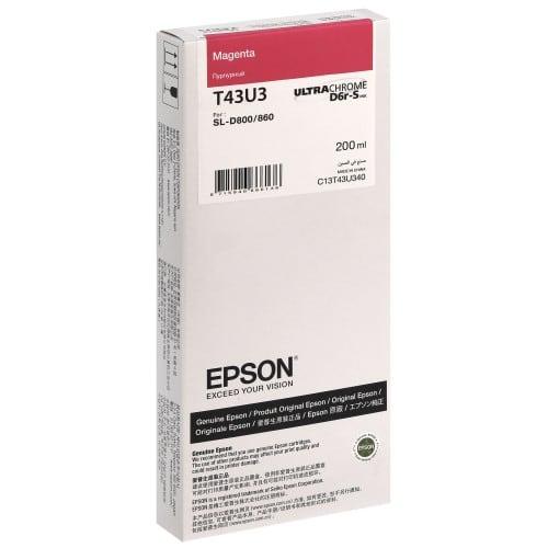 Epson SureLab encre magenta pour D800 (réf C13T43U340)
