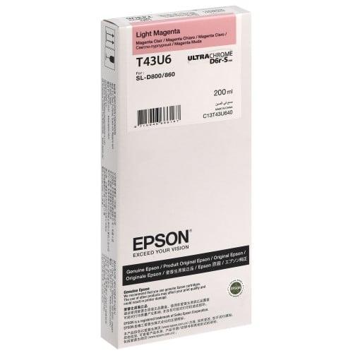 Epson SureLab encre magenta clair pour D800 (réf C13T43U640)