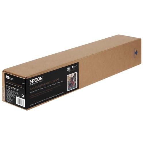 """Toile canvas jet d'encre EPSON Premier toile Polycoton mat 375g - 24"""" (61cm) - 12,2m"""