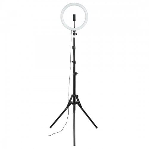 Hama Lampe anneau Ringlight LED Spotlight Steady 120 pour smartphone