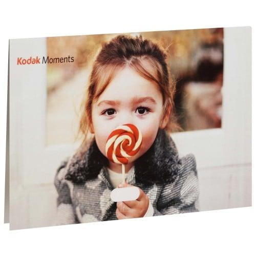 KODAK - Pochette de livraison Combi 10x15/15x20 - Carton de 500 (avec fente pour CD, sans soufflet et sans porte-négatifs, fermeture adhésive)