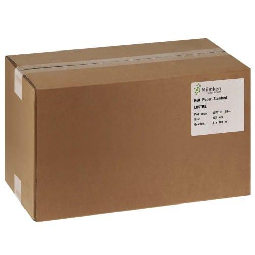 Papier jet d'encre NORITSU Standard lustré 250g pour D703 / D705 / D1005 / GREEN - 102mm x 100m - 4 rouleaux