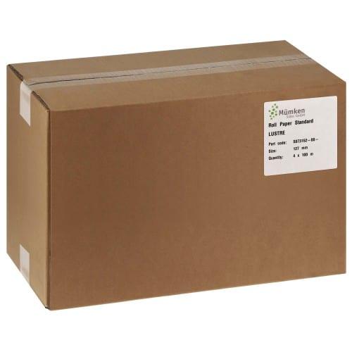 Papier jet d'encre NORITSU Standard lustré 250g pour D703 / D705 / D1005 / GREEN - 127mm x 100m - 4 rouleaux