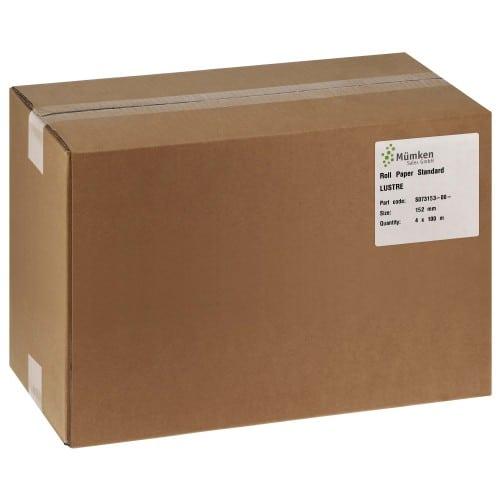 Papier jet d'encre NORITSU Standard lustré 250g pour D703 / D705 / D1005 / GREEN - 152mm x 100m - 4 rouleaux