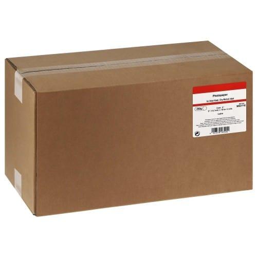 Papier lustré pour FUJI DL410 / DL430 / DL450 - 127mm x 101m - 250g - 4 rouleaux