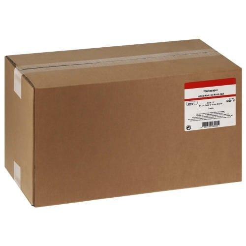 Papier jet d'encre MB TECH Papier lustré pour FUJI DL410 / DL430 / DL450 - 203mm x 101m - 250g - 2 rouleaux
