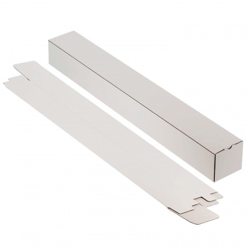 Boîtier carton pour poster MB TECH micro cannelure pour livraison comptoir - Dim. 7,5x7,5cm - Longueur 82cm - Carton de 50p