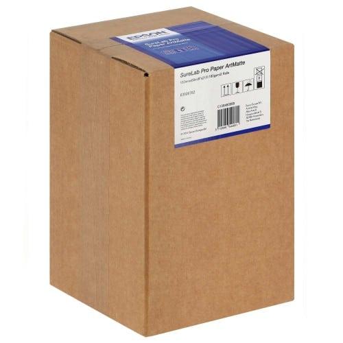 Papier jet d'encre EPSON SureLab Pro-S Art mat 180g pour D700/ D7 - 152mm x 65m - 2 rouleaux