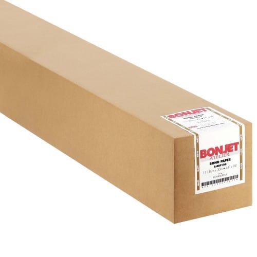 """Papier jet d'encre BONJET couché mat 180g 44"""" (1118mm x 30m)"""