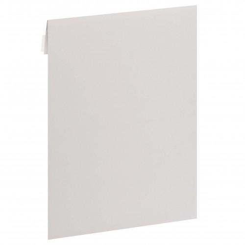 MB TECH - Enveloppe dos cartonné 22,9x32,4cm Blanche pour photo 20x30cm - Carton de 100