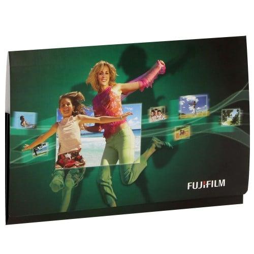 Pochette de livraison FUJI Combi 10x15 FUJI - Carton de 400 (à soufflet et avec porte-négatifs)