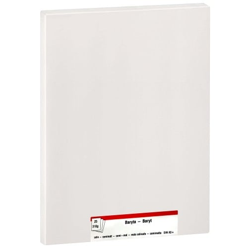 Papier jet d'encre MB TECH MB TECH Pro Photo et Fine Art Baryté mat 310g - A3+ - 25 feuilles