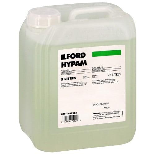 Fixateur film et papier ILFORD liquide - Flacon de 5L (Pour 25L) 1758285 HYPAM