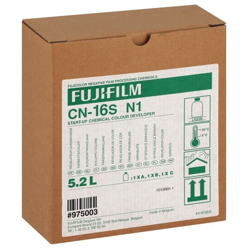 CN-16S / CP-48 (S ou HV) FUJI Révélateur N1 (3 flacons : pour 5,2L)