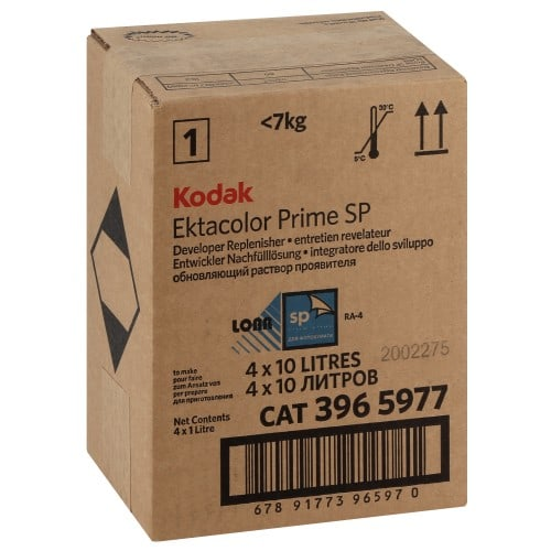 RA-4 KODAK PRIME LORR P1 Entretien Révélateur (Pour 40L) 3965977 EKTACOLOR