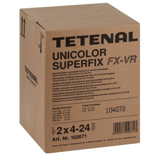 Tétenal C-41 Unicolor Superfix FX-VR (2x 3L pour 2x 4-24L)