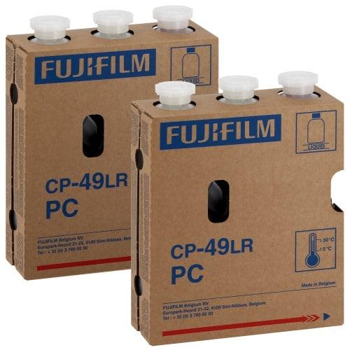 FUJI - Pack entretien PC Kitx2 CP49LR - Pack de 2 Cartouches Type P1-R + P2-RA + RB - pour faire 2 x 122m² (995126)