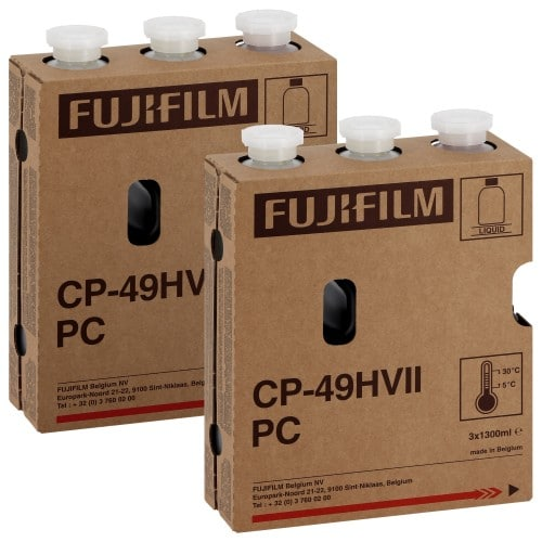 FUJI - Pack entretien PC Kitx2 CP49HVII - Pack de 2 Cartouches Type P1-R + P2-RA + RB - pour faire 2 x 111m² (999516)