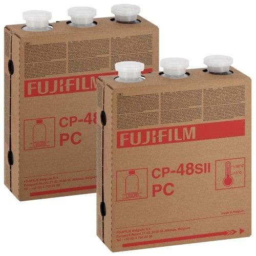 FUJI - Pack entretien CP48S - Pack de 2 Cartouches Type P1-R + P2-RA + RB - pour faire 2 x 111m² (994475)