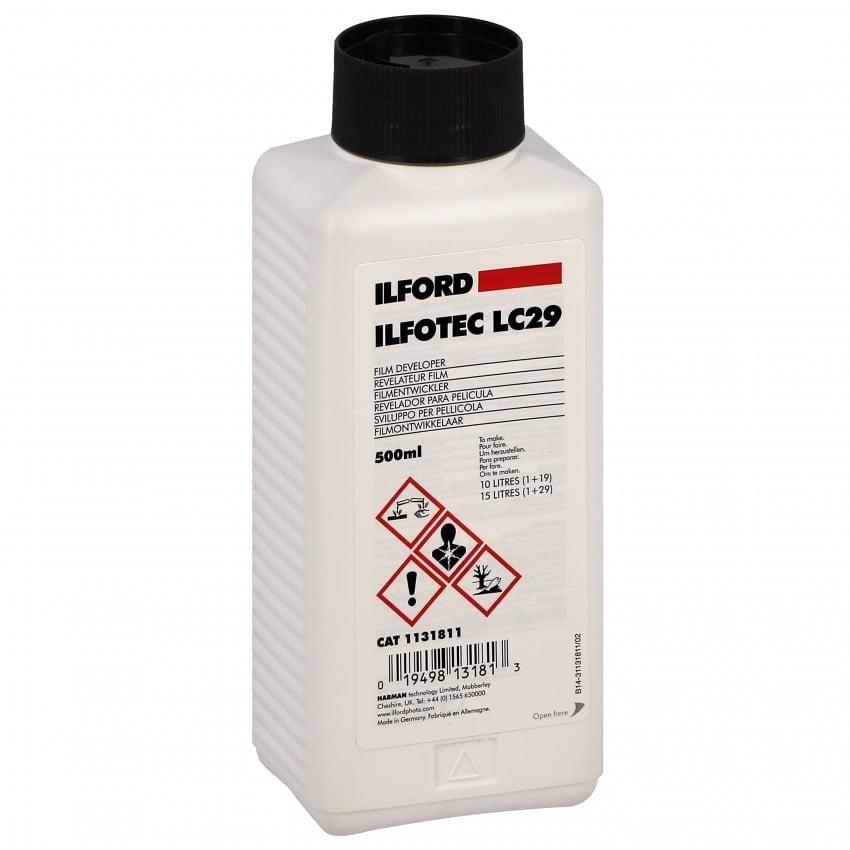 Révélateur film ILFORD liquide - Flacon de 500ml (Pour 10L ou 15L) 1131811 ILFOTEC LC29