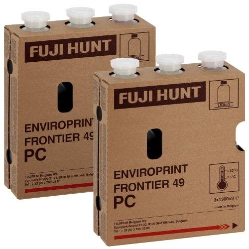 Fuji CP49 Enviro-Print 2 kits pour FR350/série 5&7 (Pour 2x111m²)