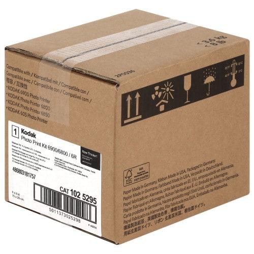 Consommable thermique KODAK pour 6800 / 6850 - 10x15cm - 750 tirages ou 15x21cm - 375 tirages Kit 6800/6R (CAT 3962941)