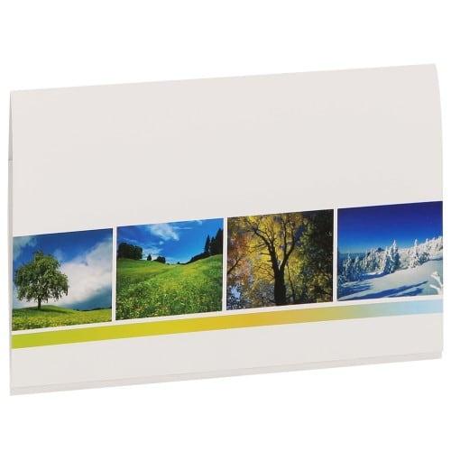 Pochette de livraison MB TECH Combi 10x15 - Gamme 4 SAISONS - Carton de 500 (avec porte-négatifs)