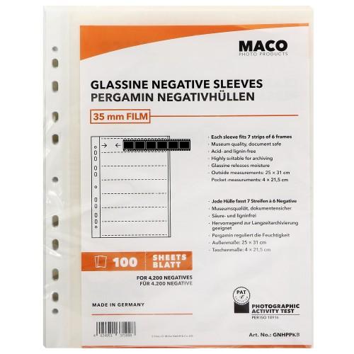 XTAL135 100 feuillets pergamine négatif