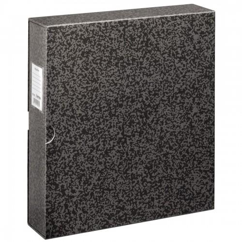 HAMA - Classeur avec anneaux A4 - pour diapos, négatifs et photos - Couverture Noire 30,5x32,5cm - 4 anneaux diamètre 4,5cm - Livré avec étui