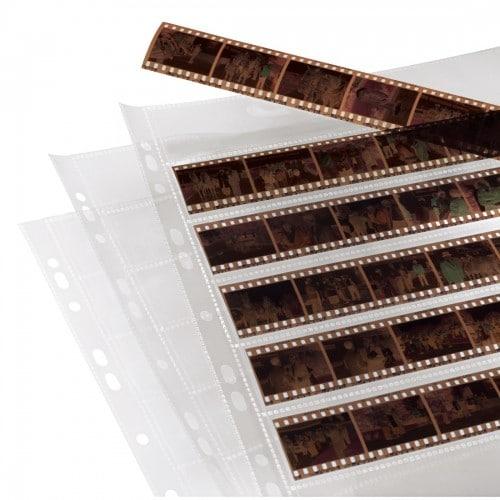 Hama Feuillets classeur polypro 7 bandes de 6 négatifs 24x36mm 25p